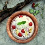 Saisonale Kombi-Packung von Erdbeeren mit Spargel